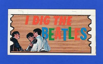 The Beatles Plaks Topps # 1  I DIG THE BEATLES