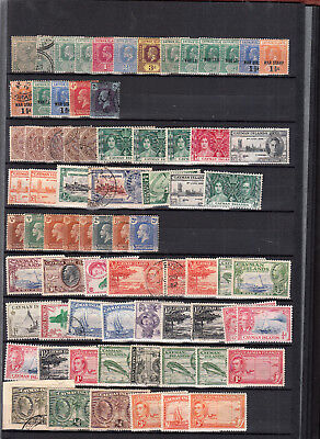 Cayman Islands Stockpage Values/sets Mint/used