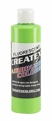 Createx Colors Paint for Airbrush, 8 oz, Fluorescent Green
