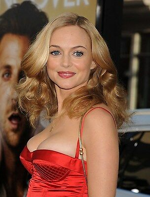 "Heather Graham in a 8"" x 10"" Glossy Photo 05"