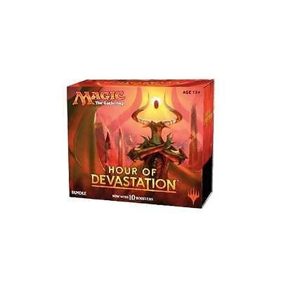 New FAT PACK Hour of Devastation Sealed Bundle MTG Magic (10 boosters + extras)
