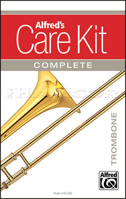 Alfred's Care Kit Complete for Trombone Clean & Maintain Your Instrument