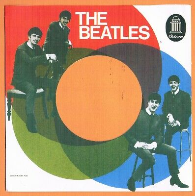 Beatles-Pack of 5 repro Odeon paper companysleeves for 45Rpm records.