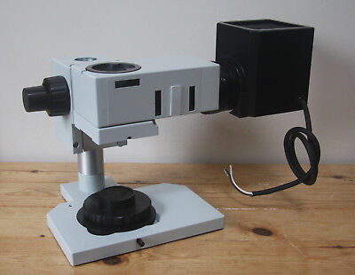 Olympus BXFM Metallurgical Microscope Body, Lamphouse & Stand with Gliding Stage