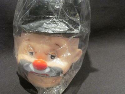 "Mangelson's Dolls & 1993 Hobo Head with Black Hat 6"" New in Package #162-22"