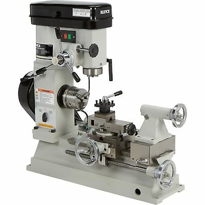 Klutch Lathe, Milling and Drilling Machine - 1/2 HP, 110V Motor