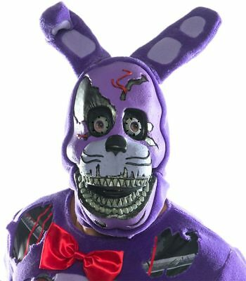 Five Nights At Freddy's Nightmare Bonnie Costume Mask