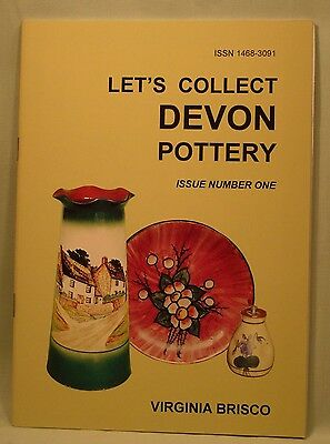 Let's Collect Devon Pottery Issue 1 by Virginia Brisco, New copy