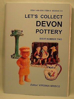 Let's Collect Devon Pottery Issue 2 by Virginia Brisco (New copy)