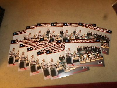 LOT 12 Winston Cup Championship GM Goodwrench Racing Team Brochures Earnhardt