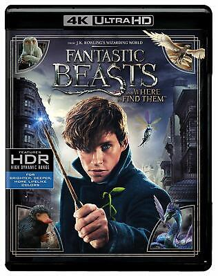 Fantastic Beasts and Where to Find Them 4K Ultra HD Blu-ray NEW