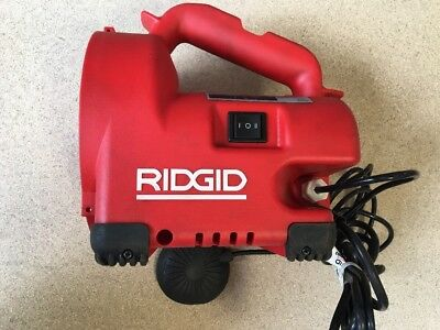 Ridgid Auto Clean Drain Cleaner K-30 34963 Body Case, Pedal And Plug ONLY *READ*