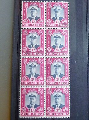 Block 8 stamps Mint