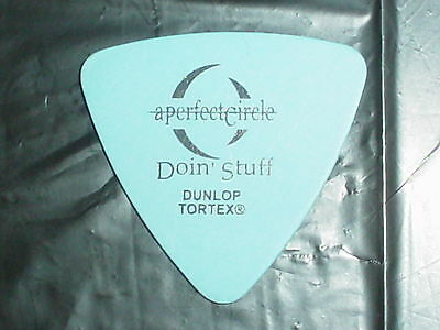 A PERFECT CIRCLE Doin Stuff Logo Maynard of TOOL Concert Tour Bass GUITAR PICK