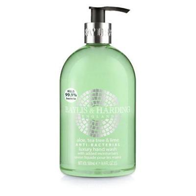 Baylis and Harding Anti Bacterial Hand Wash 500ml - Aloe Vera