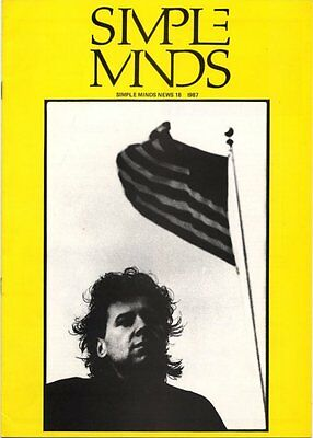 Simple Minds Fanzine #18 1987