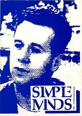 Simple Minds Fanzine #23 1988