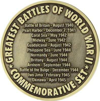 Miscellaneous--Medallion Greatest Battle WWII