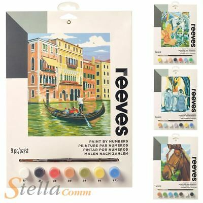 Reeves Paint By Numbers Artist Acrylic Painting Kit