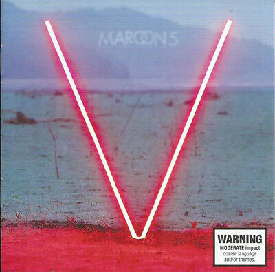 Maroon 5 ‎– V CD NEW