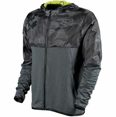 Fox Racing Diffuse Jacket Black Camo Large