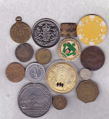 15 Various Old Commemorative Medals Average Very Fine Condition