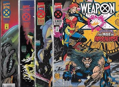 Weapon X #1-#4 Set (Nm-) After Xavier The Age Of Apocalypse