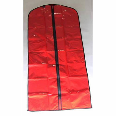 SALE - 45x DRESS COVERS in Red PVC for Dresses / Coats Wholesale Job Lot 1306