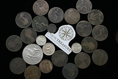 Uk Gb Old Penny's Lot A69 M1