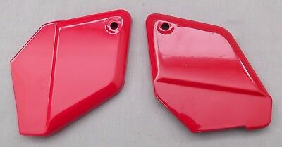 Genuine Honda CH80 Elite Rear Footrest Cover Panel Set Red R-123 50619-GE1-000ZJ