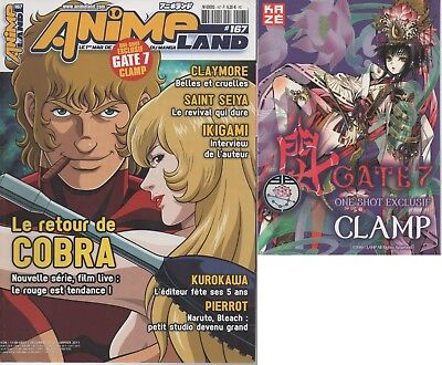 Animeland 167 - Magazine manga + supplement one shot Gate7 Clamp - Cobra