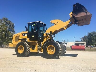 2015 Caterpillar 924K Articulated Wheel Loader Diesel AC Rubber Tire Tractor