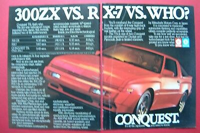 1986 Conquest TSi 2-pages Color AD