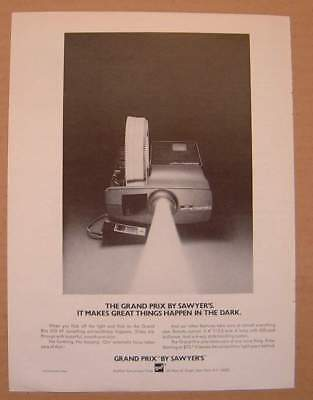 1972 Grand Prix by Sawyers Slides Projector AD