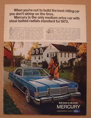 1972 Mercury with Steel-Belted Radials Ford AD