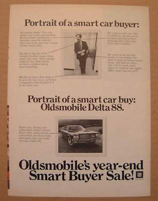 1972 Oldsmobile's Year-End Smart Buyer Sale AD