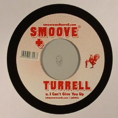 """SMOOVE & TURRELL - I Can't Give You Up - Vinyl (7"""")"""