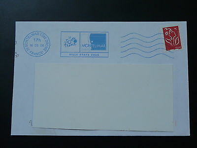 bicycle cycling Tour de France 2006 postmark on cover