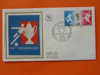 football cup 1977 FDC 30749