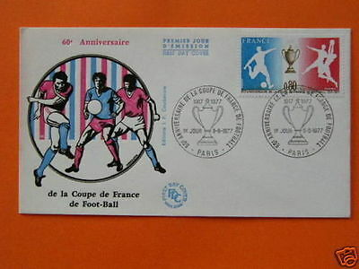 football cup 1977 FDC 30752