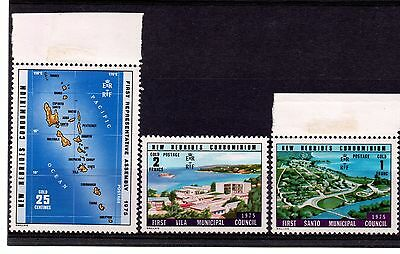 New Hebrides (235) 1976 Constitutional Chamges set 2 unmounted Sg211-13