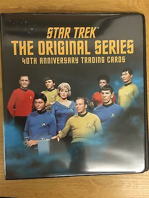 Star Trek TOS 40th Anniversary Series 1 Official Rittenhouse Binder