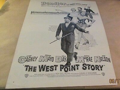 Movie Ad---THE WEST POINT STORY---<1950>---JAMES CAGNEY---DORIS DAY