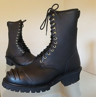 """NIB Total Fire Group Firefighter Boots 10"""" Leather Wildland Boot Men's Size 12"""