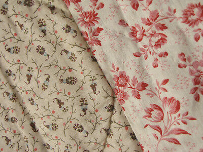 Antique French Pique Provencal Fenetre quilt silk cotton   c1830-1850
