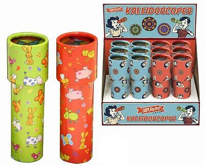 Childrens Kaleidoscope Traditional Toy For Kids ~ Colour Varies