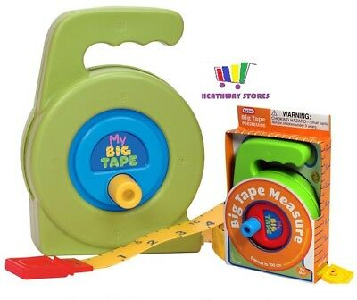 My First Big Tape Measure Toy Learning Measuring Tape Up To 100Cm Kids Childrens
