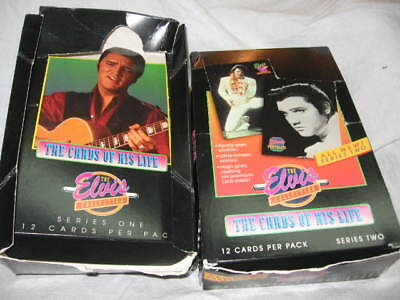Elvis Presley 1992 River Group Trading Cards Series 1,2,3 Boxes Epe Trademark