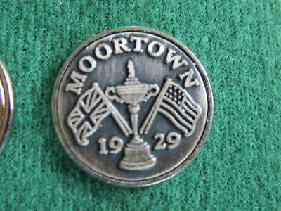 Golf Ball Marker - Moortown Golf Club 1929