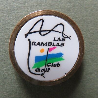 Golf Ball Marker - Las Ramblas Golf Club